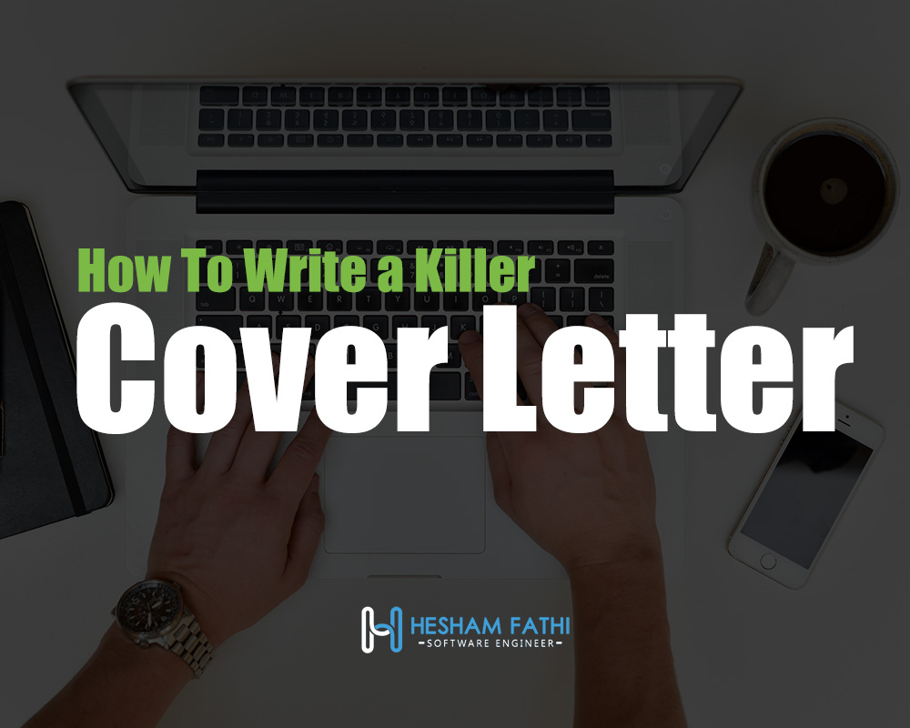 Writing a killer cover letter for your proposal