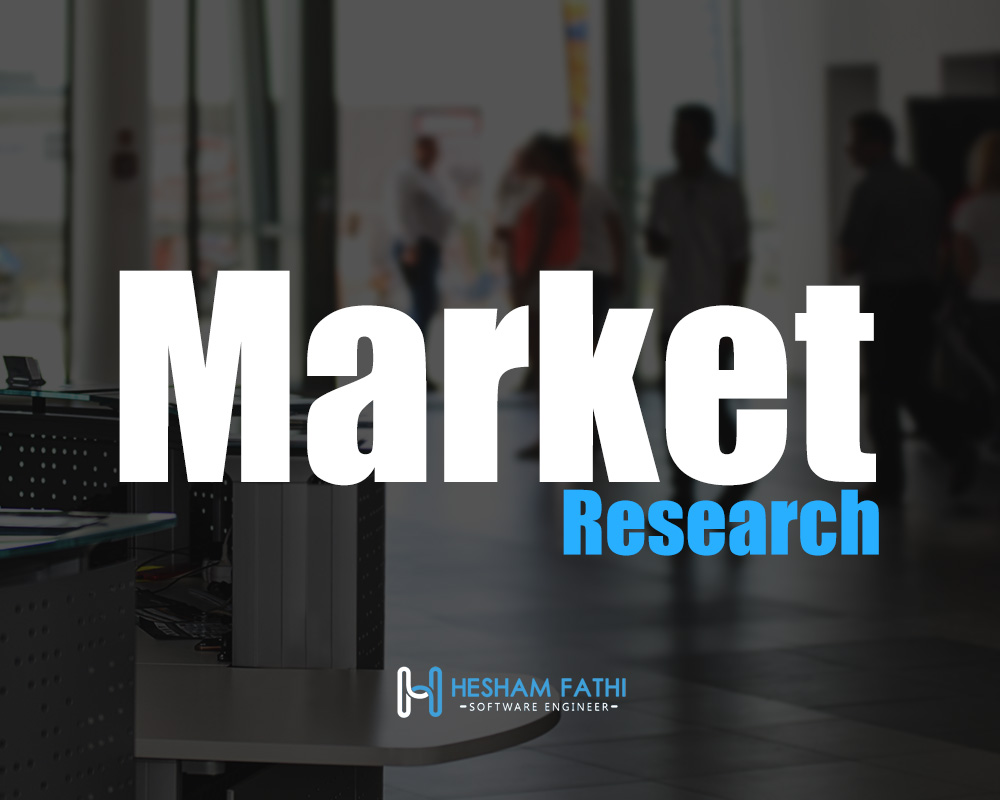 Market research and risk management for startups