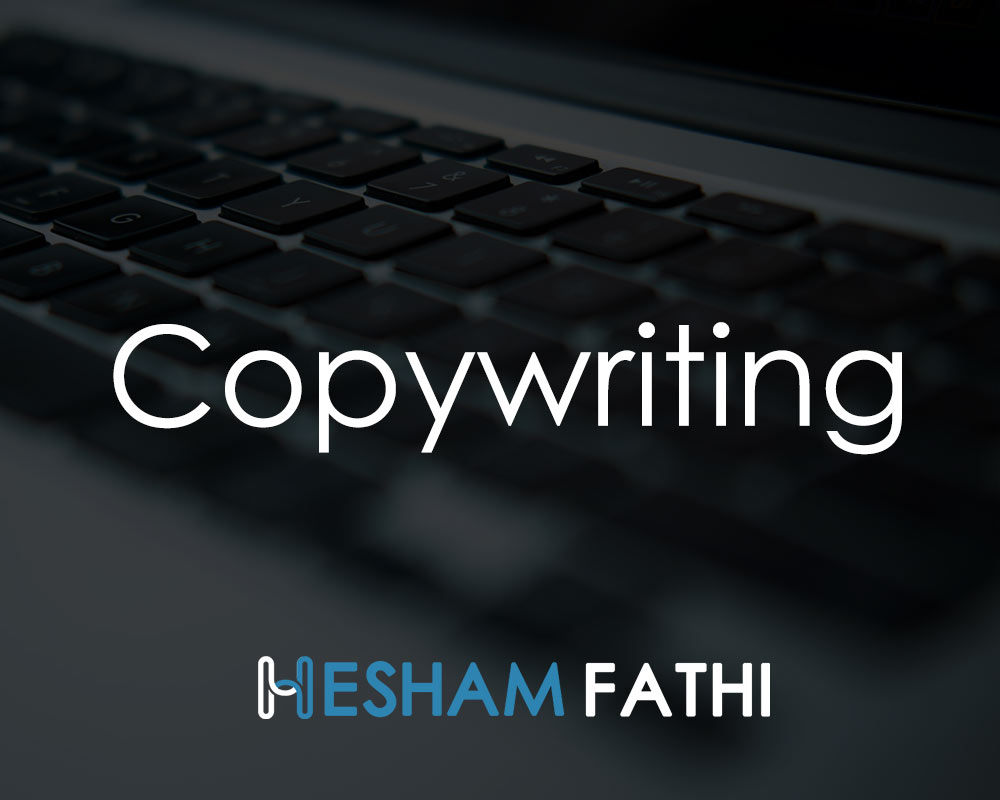 Copywriting: Write ad copy that attract cusomers and drive sales